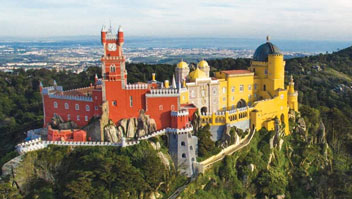 sintra christian personals The north-facing wall of the castle of the moors, perched on top of the sintra mountains, showing the rectangular towers, including the royal tower (top left.